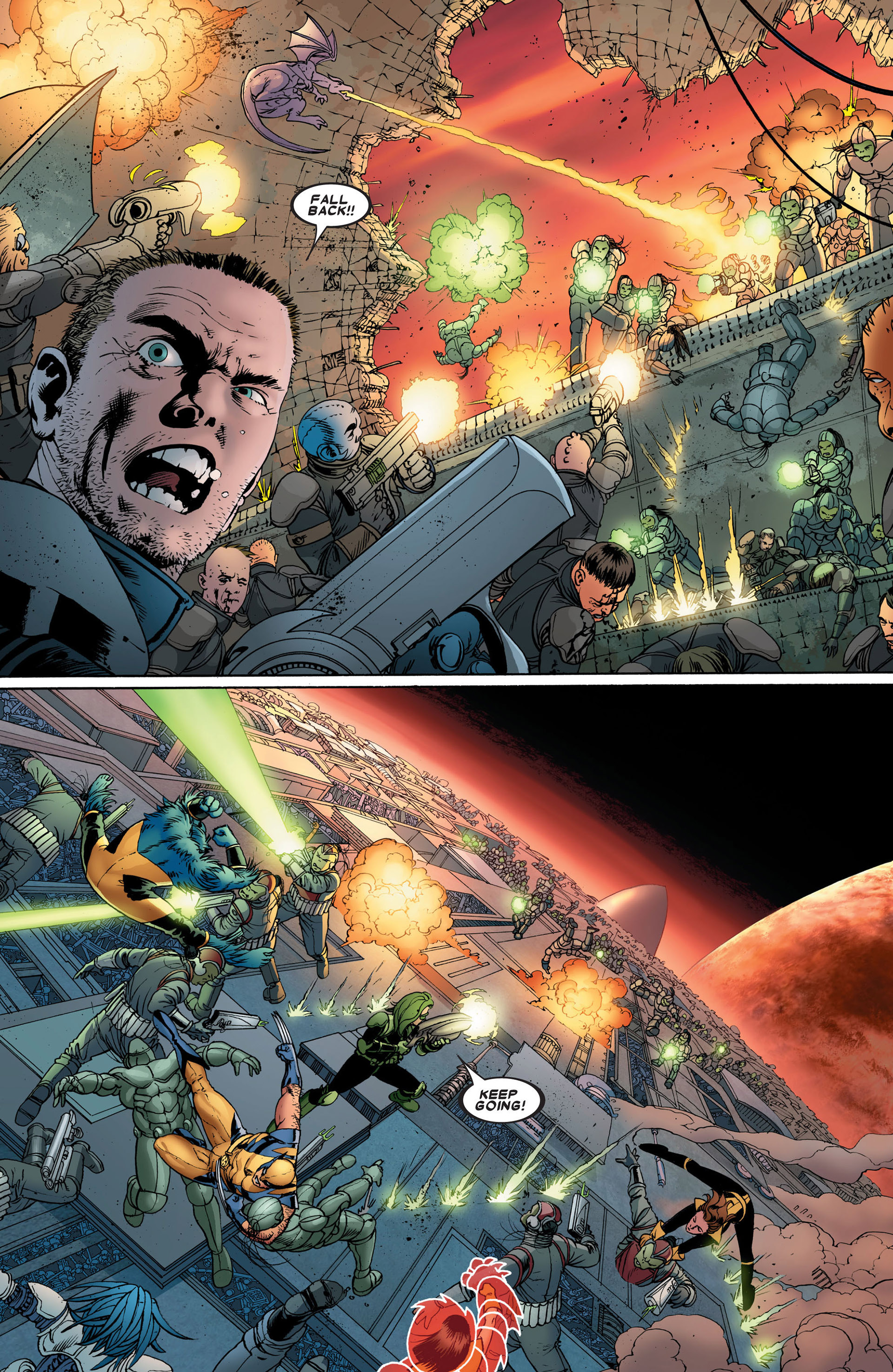 Read online Astonishing X-Men (2004) comic -  Issue #24 - 16
