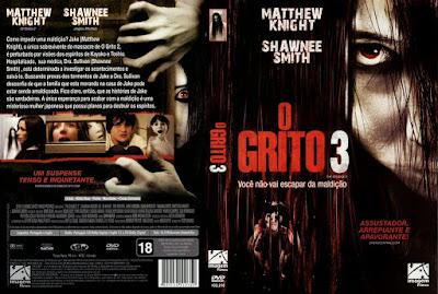 Filme O Grito 3 DVD Capa