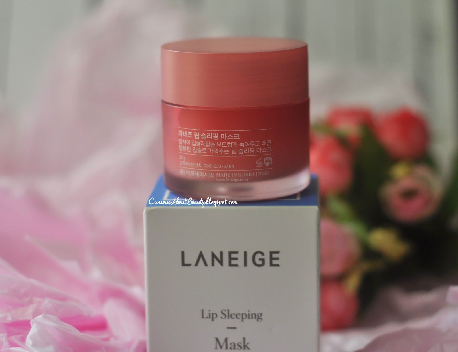 Curious About Beauty Travel And Life Review Laneige Lip Sleeping Mask It Comes With Rubber Safety Cap Silicone Or Spatula So Its More Hygiene