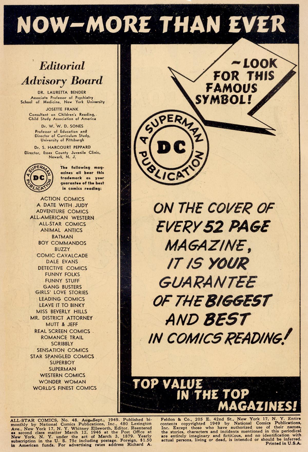 Read online All-Star Comics comic -  Issue #48 - 2