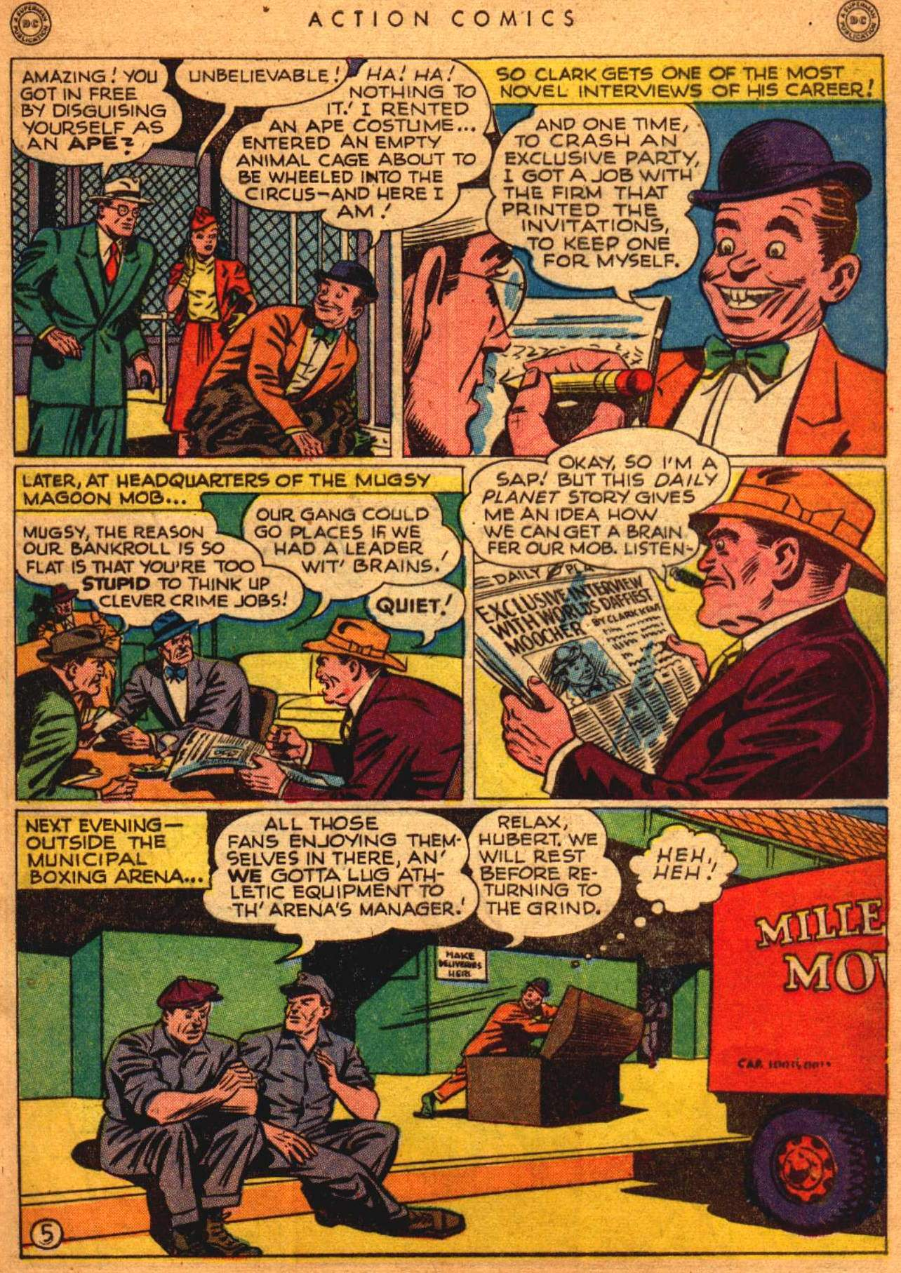 Read online Action Comics (1938) comic -  Issue #108 - 6