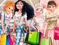 لعبة بنات في يوم تسوق