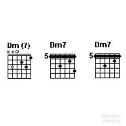 Chord gitar Dm7