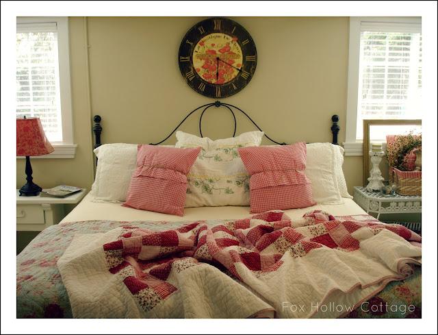 Easy Spring cottage bedroom refresh