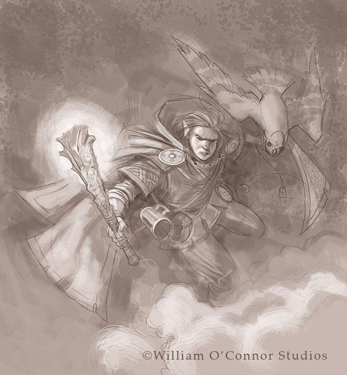 William O Connor Studios Fantasy Character Workshop 010 Halfling Wizard