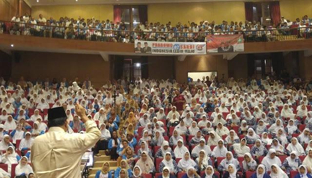 API Siap Sumbang 25 Juta Suara untuk Prabowo-Sandi