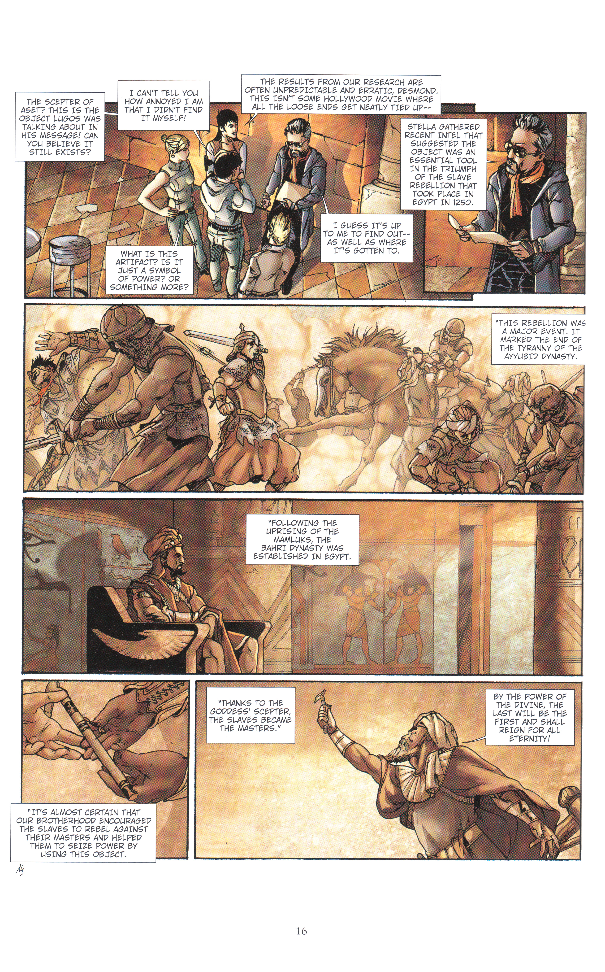 Read online Assassin's Creed (2012) comic -  Issue #4 - 16