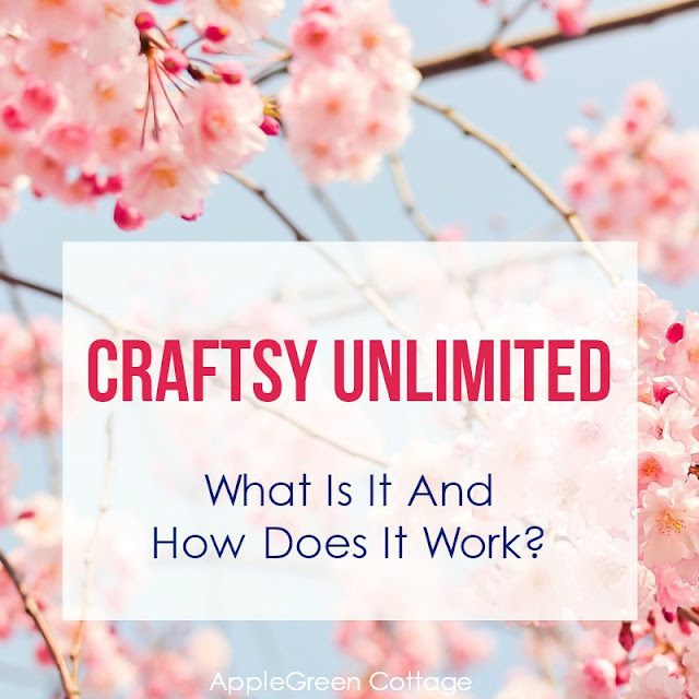 Craftsy Unlimited is a new subscription program for sewing, crafting, quilting
