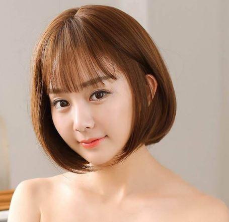 Tóc ngắn ngang vai giúp bạn nữ trẻ trung và năng động hơn