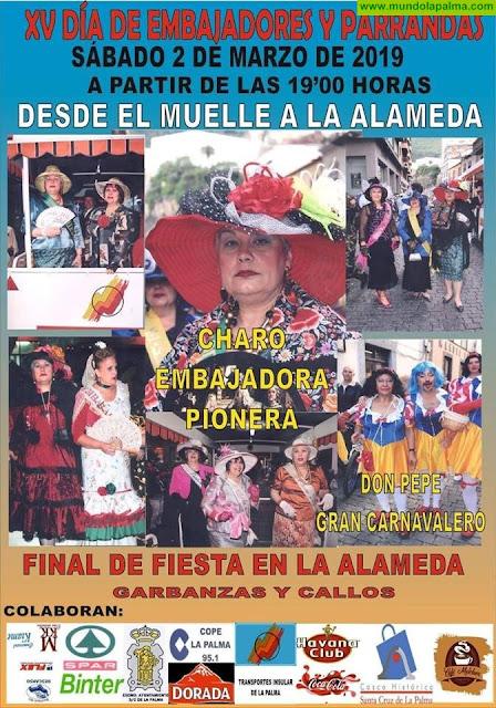 XV Día de Embajadores y Parrandas Carnaval Santa Cruz de La Palma