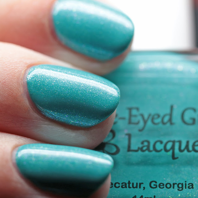 Blue-Eyed Girl Lacquer The Voice of Many