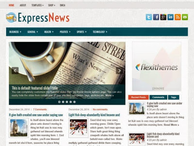 ExpressNews - WP Magazine Theme Simple SEO Responsive