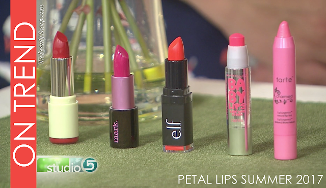 THE BIGGEST TREND IN LIPS RIGHT NOW // PETAL LIPS