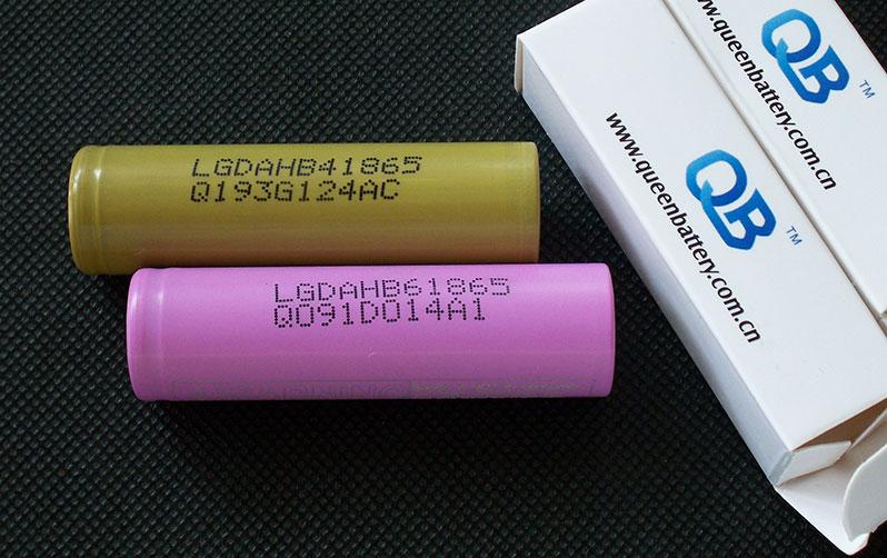 18650 LG HB4 LG HB6 capacity test