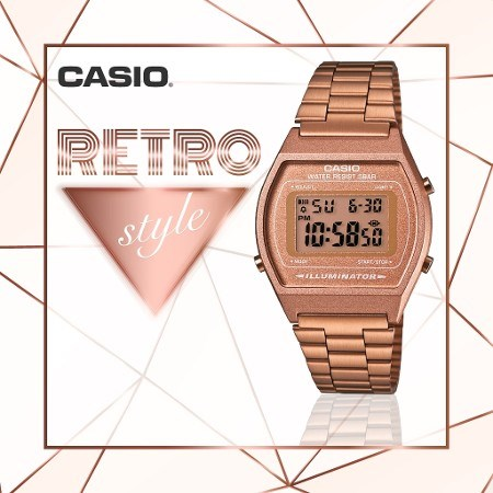casio b640wc 5adf retro kol saati