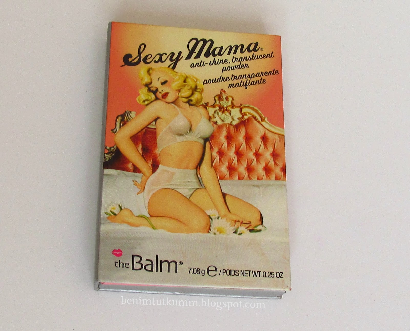 the balm sexy mama transparan pudra