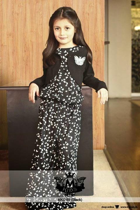 ba712e258 Maria B Winter Dresses 2015 For Little Girls
