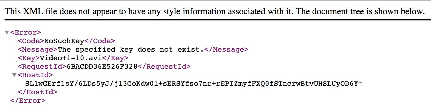 S3 File Access Error