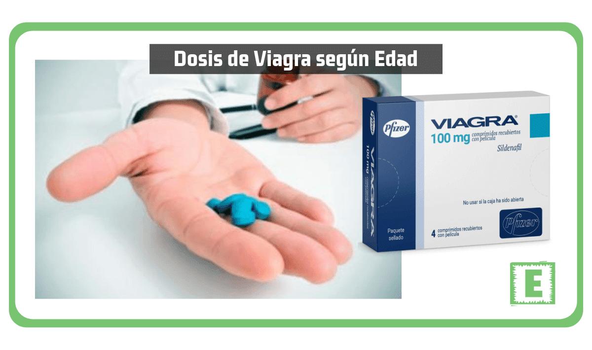 Dosis de Viagra según Edad