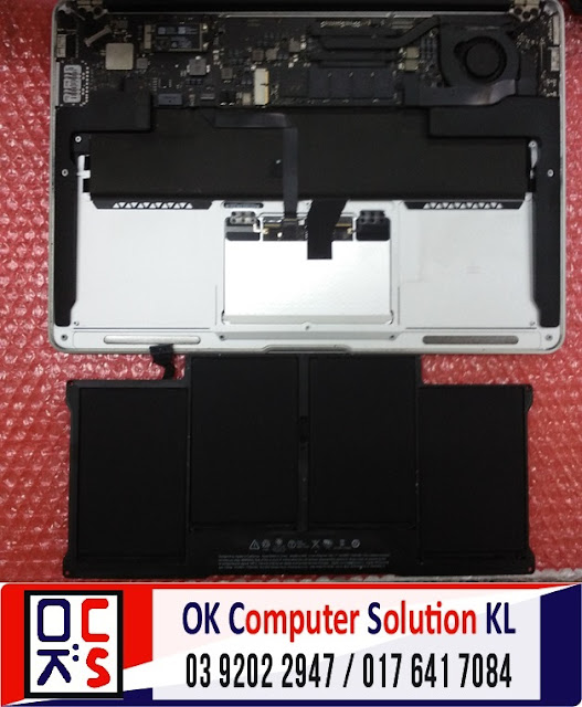 [SOLVED] TUKAR BATERI MACBOOK AIR A1466 | REPAIR MACBOOK CHERAS 2