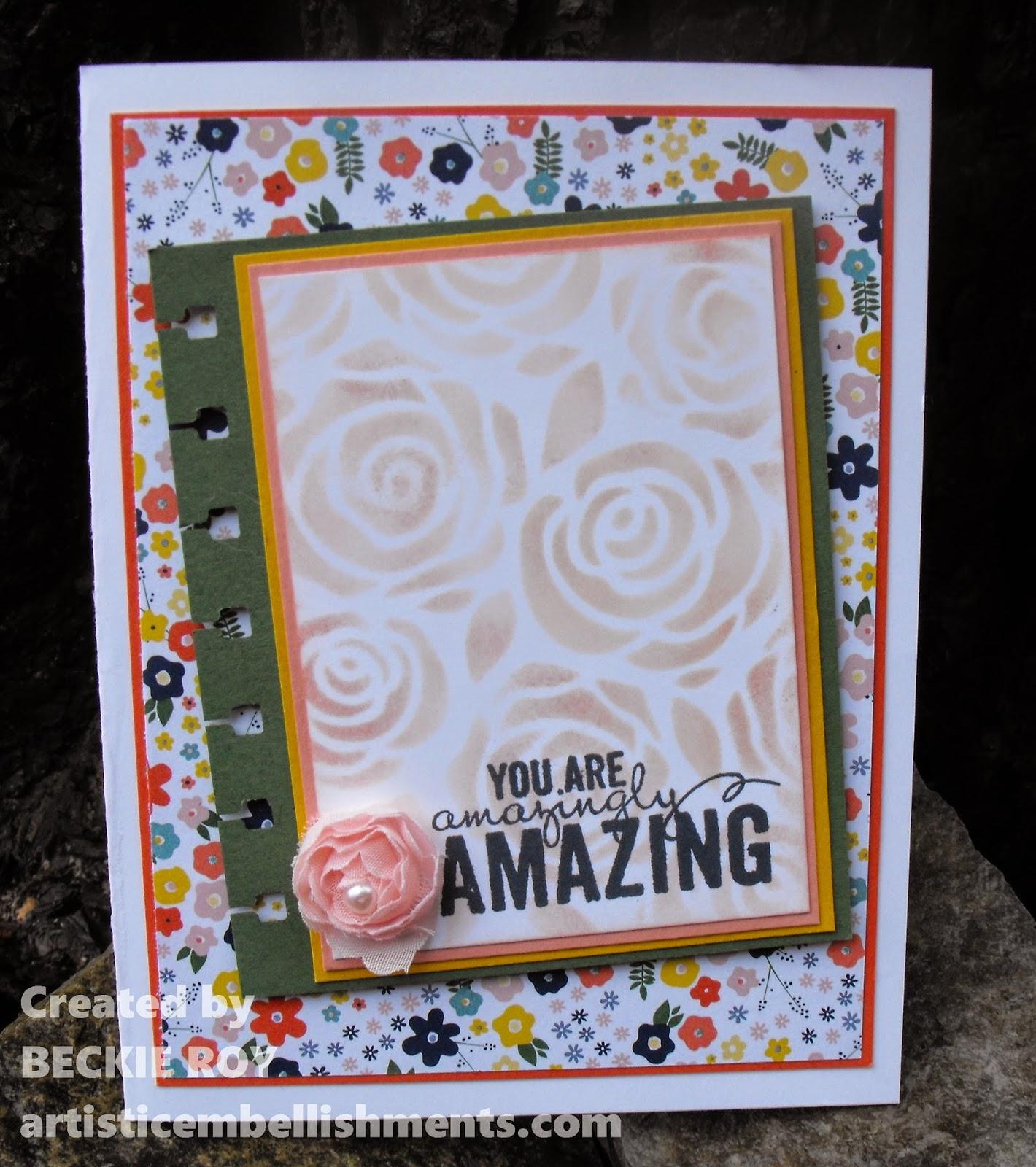 Artistic Embellishments: Artisan Embellishment Kit    you