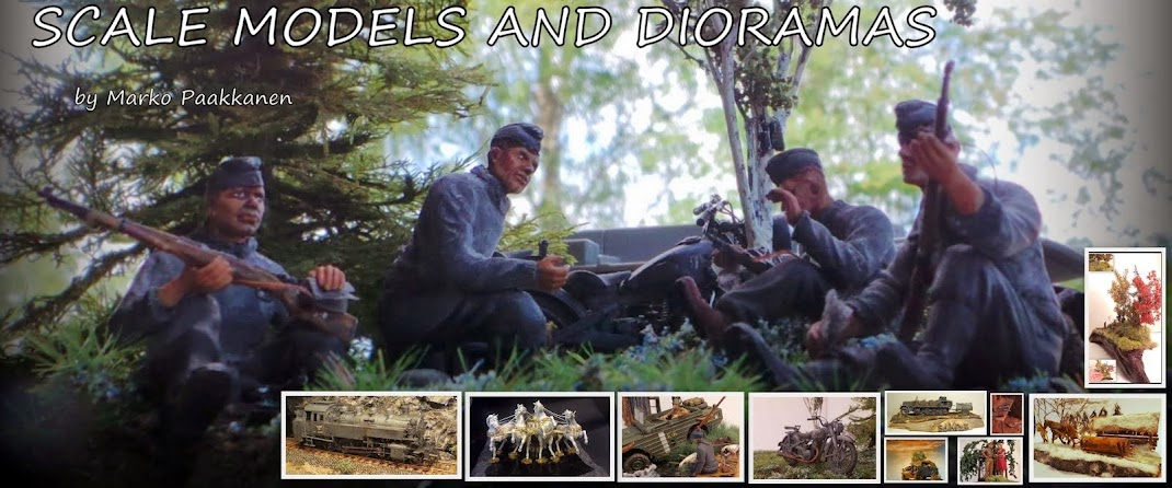 Scale models and dioramas
