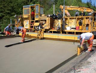 Construcción pavimento rígido