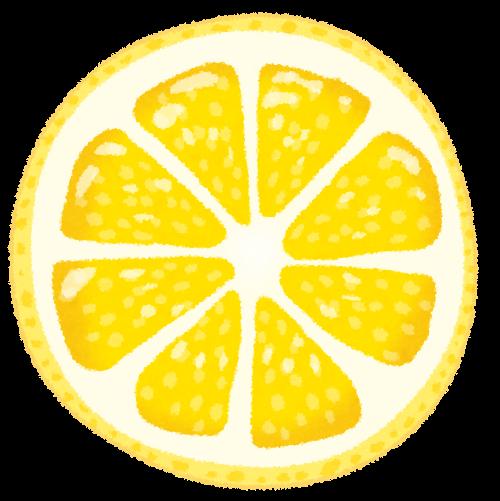 レモンの断面のイラスト かわいいフリー素材集 いらすとや