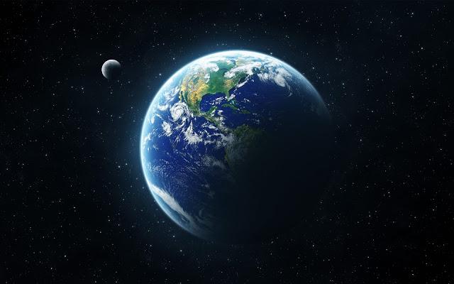 Imagem da terra segundo a NASA