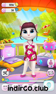my talking angela hile apk