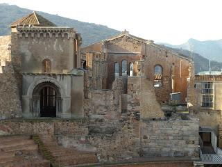Iglesia de santa María la Mayor. Cartagena. Murcia