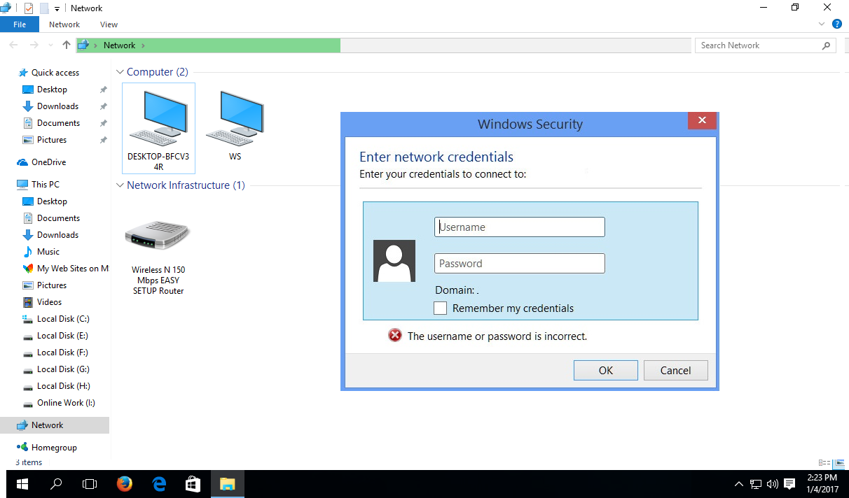 Learn New Things How To Fix Enter Network Password