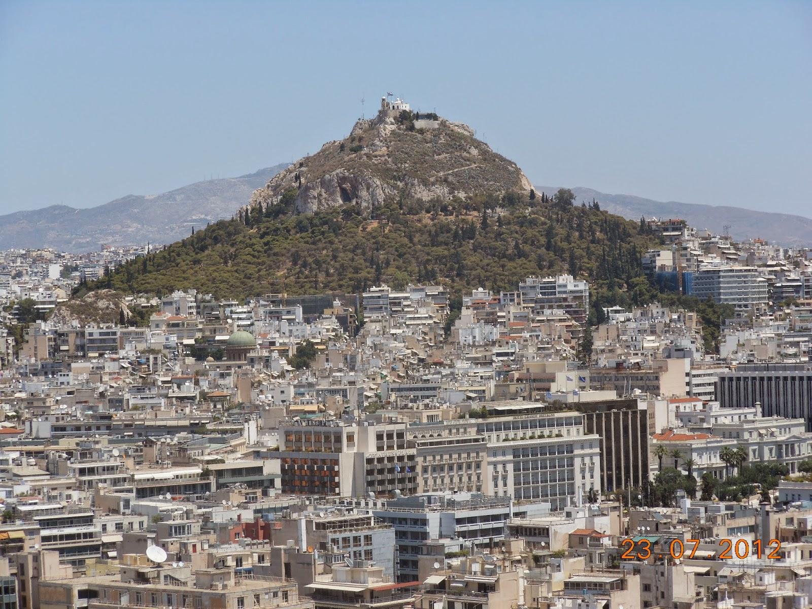Vista da Acrópole - Atenas - Grécia