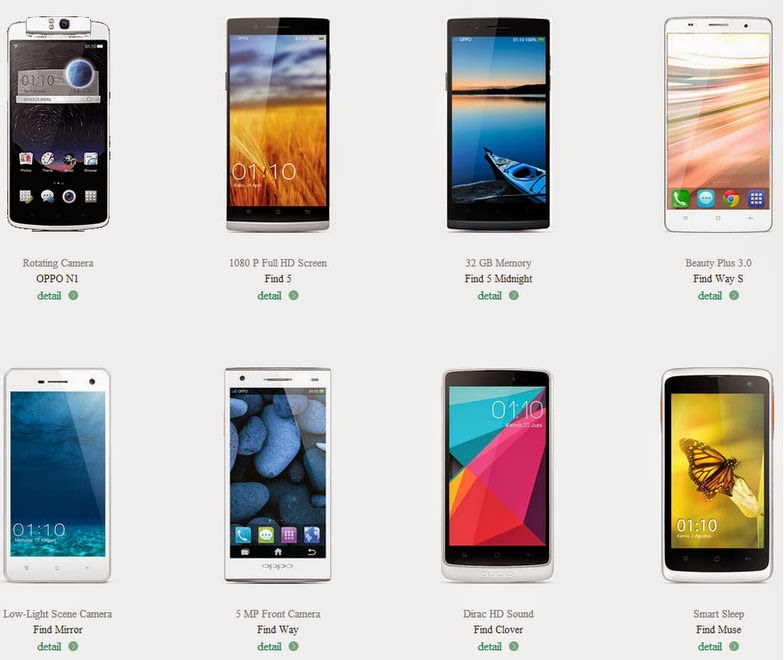 Harga Handphone Oppo Februari 2015