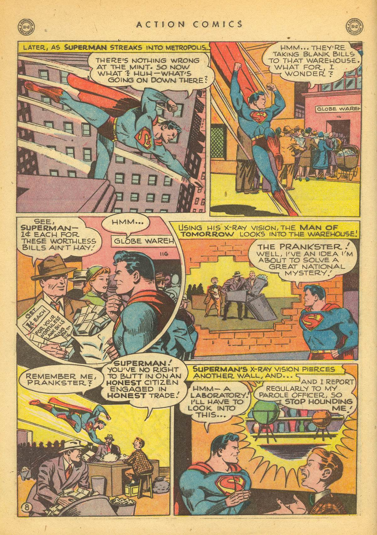 Read online Action Comics (1938) comic -  Issue #109 - 10