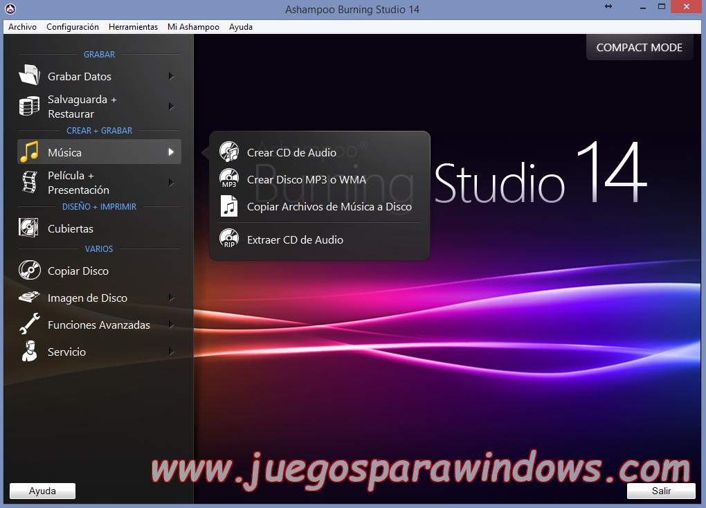 Ashampoo Burning Studio v14.0.5.10 Full PC ESPAÑOL 10