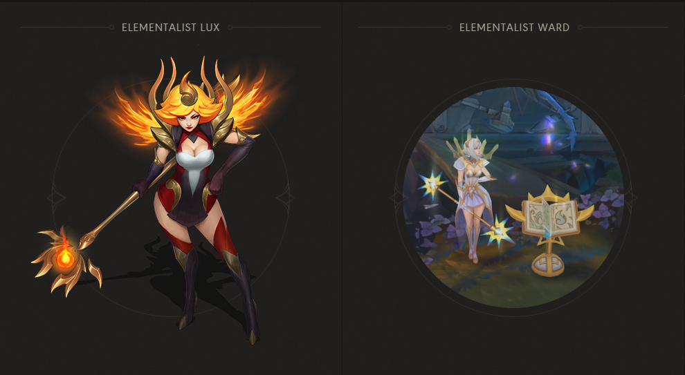 Surrender At 20 Elementalist Lux Now Available