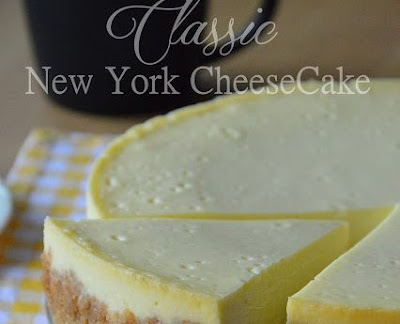 Resepi Classic New York CheeseCake