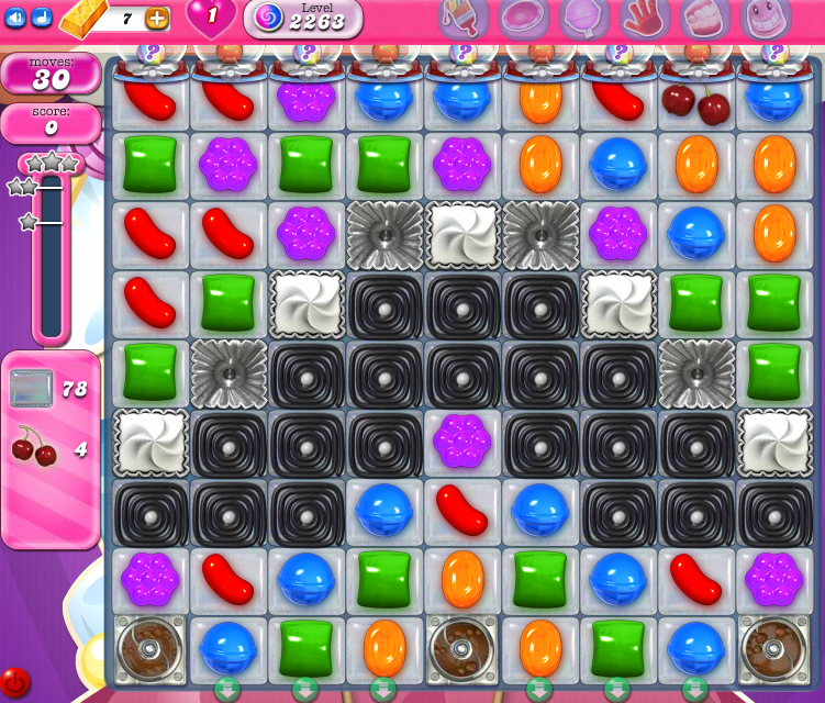 Candy Crush Saga level 2263