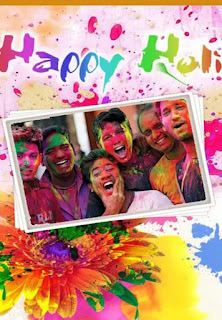 Holi Photo Frames Decorate your photos with colour Holi Frames...