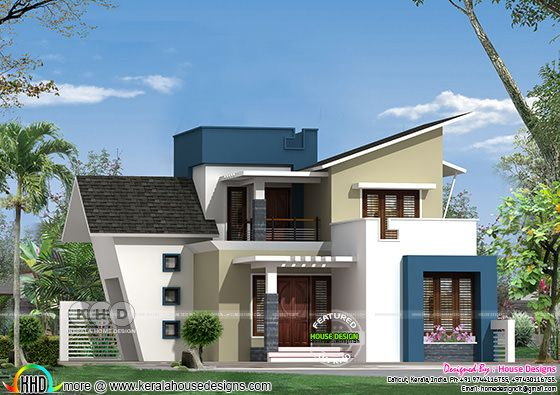 New home design by 'House Designs' from Calicut