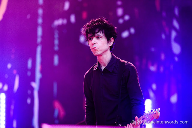 Nick Zinner of Yeah Yeah Yeahs on the Garrison Stage at Field Trip 2018 on June 3, 2018 Photo by John Ordean at One In Ten Words oneintenwords.com toronto indie alternative live music blog concert photography pictures photos