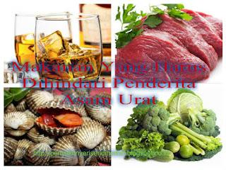 Makanan Yang Harus Dihindari Penderita Asam Urat