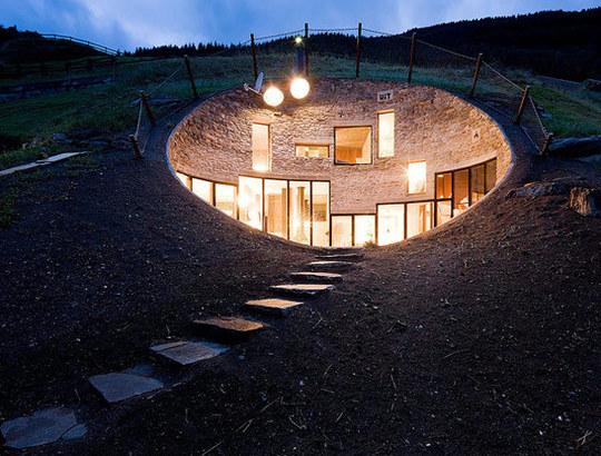 Gold Treehouse Insane Swiss Mountain Home