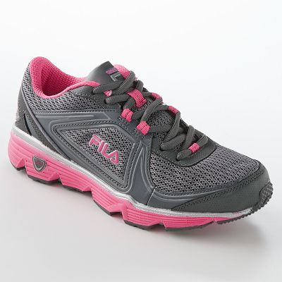 Fila Women S Windstar  Navy Pink Running Shoe