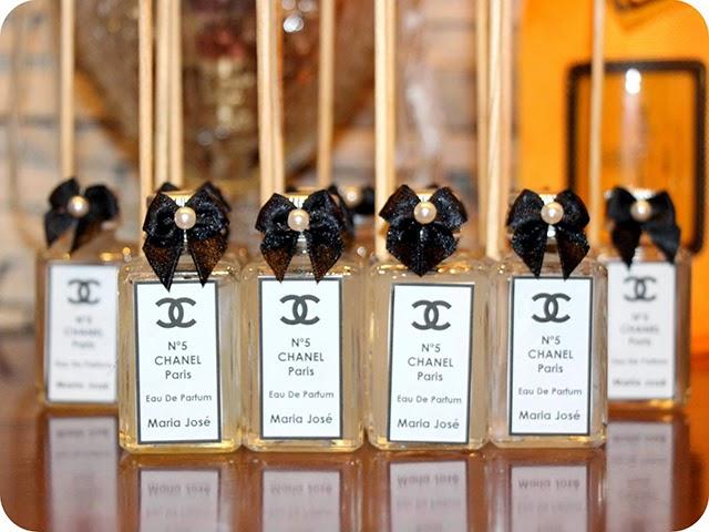 Aromatizadores de Ambiente Personalizados Aniversário Chanel