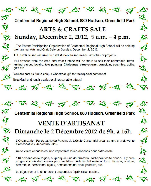 Greenfield High School Craft Fair