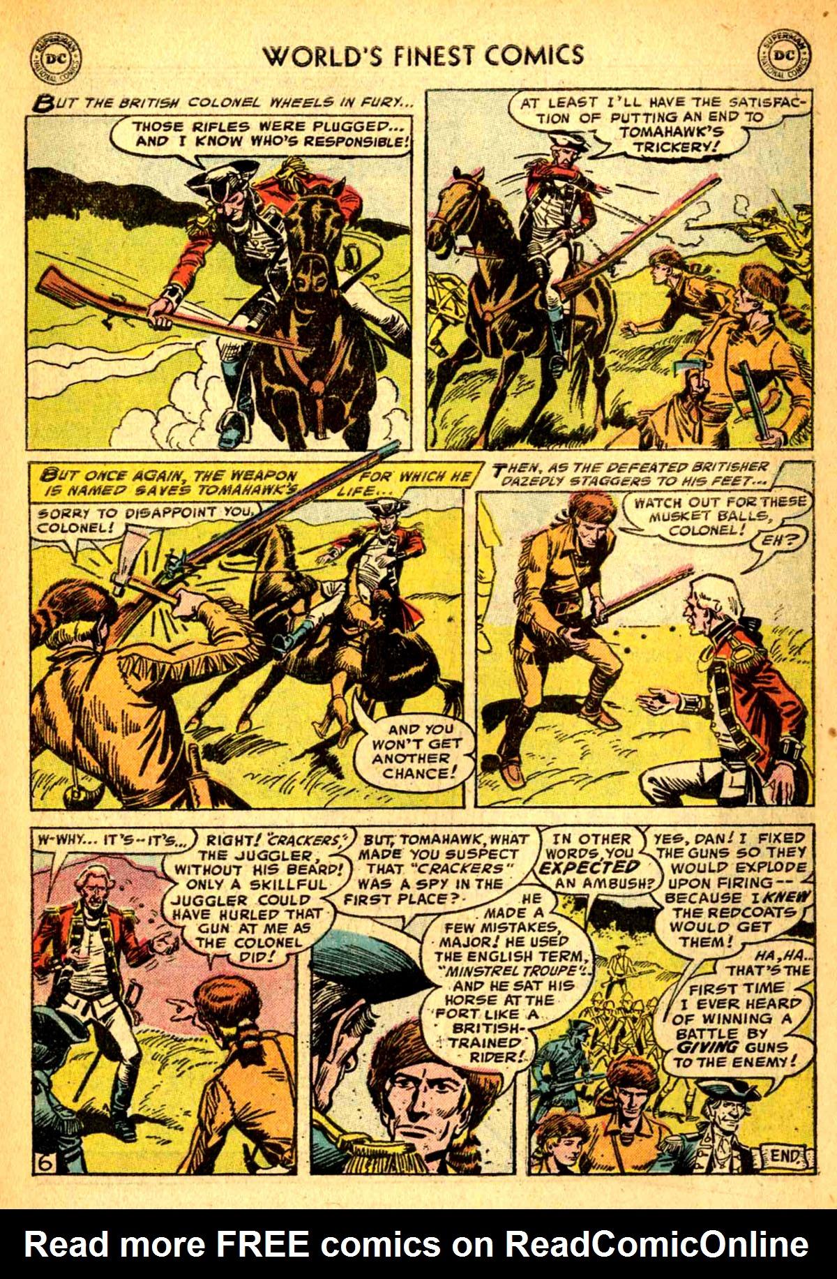 Read online World's Finest Comics comic -  Issue #77 - 33