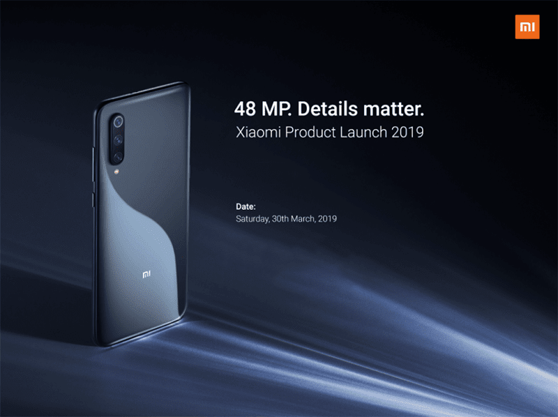Xiaomi to officially make the Mi 9 official in PH on March 30