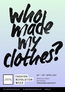 who made my clothes; Fashion Revolution